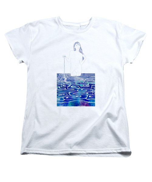 Water Nymph Xc Women's T-Shirt (Standard Cut) by Stevyn Llewellyn