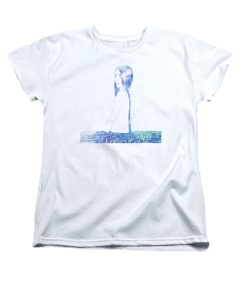 Water Nymph Xcii Women's T-Shirt (Standard Cut) by Stevyn Llewellyn