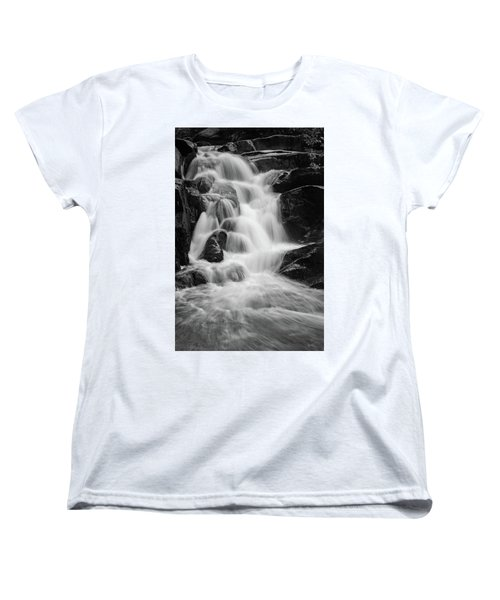 water stair close to the Heinrich Heine hiking way, Harz Women's T-Shirt (Standard Cut) by Andreas Levi