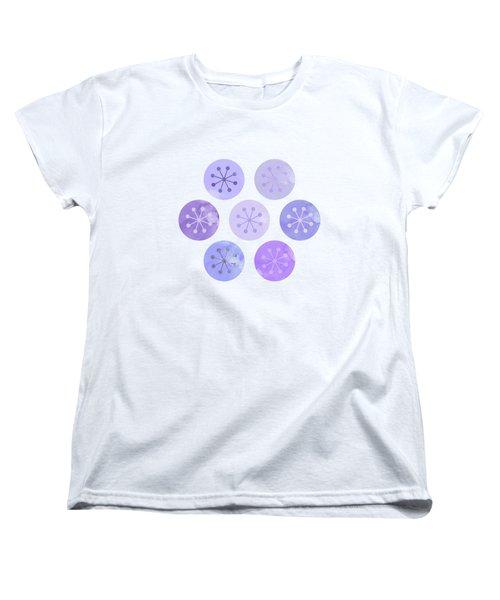 Watercolor Lovely Pattern II Women's T-Shirt (Standard Fit)