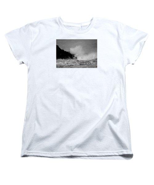 Wave Watching Women's T-Shirt (Standard Cut) by Roy McPeak