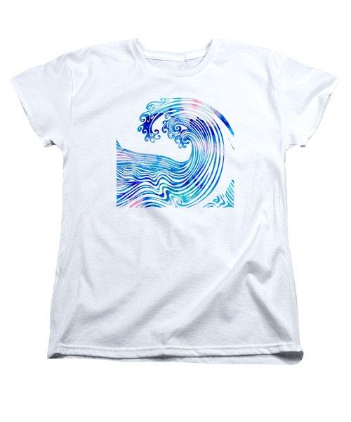 Waveland Women's T-Shirt (Standard Cut) by Stevyn Llewellyn