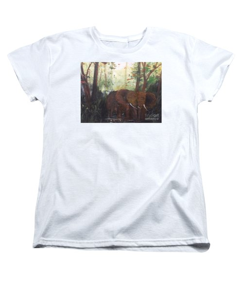 We Two Women's T-Shirt (Standard Cut) by Trilby Cole