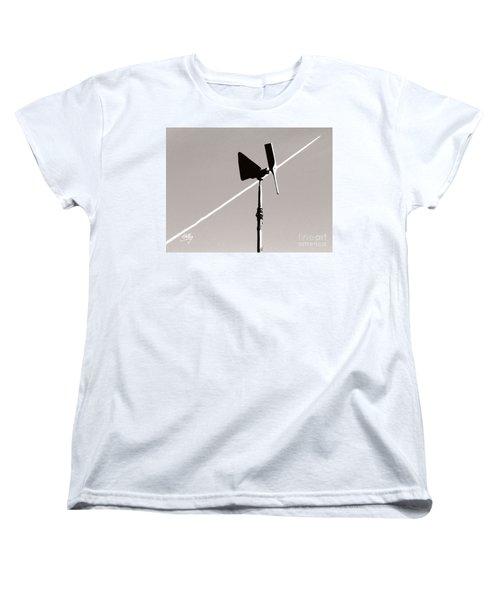 Women's T-Shirt (Standard Cut) featuring the photograph Weather Vane by Linda Hollis