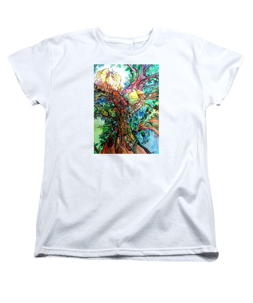 Welcome Home Women's T-Shirt (Standard Cut) by Claudia Cole Meek