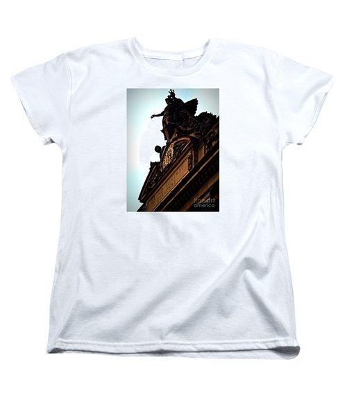Welcome To Grand Central Women's T-Shirt (Standard Cut) by James Aiken