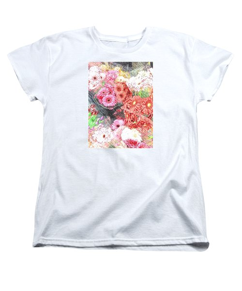 Wendy's Flowers Women's T-Shirt (Standard Cut) by Jan Amiss Photography
