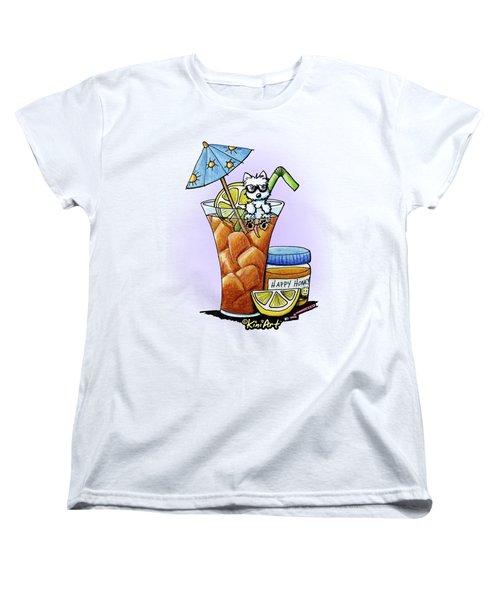 West Highland Iced Tea Women's T-Shirt (Standard Cut)