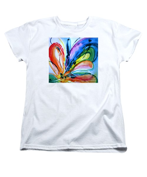 What A Fly Dreams Women's T-Shirt (Standard Cut) by Rory Sagner