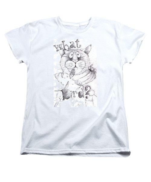 What Bird  Women's T-Shirt (Standard Cut) by Mary-Lee Sanders