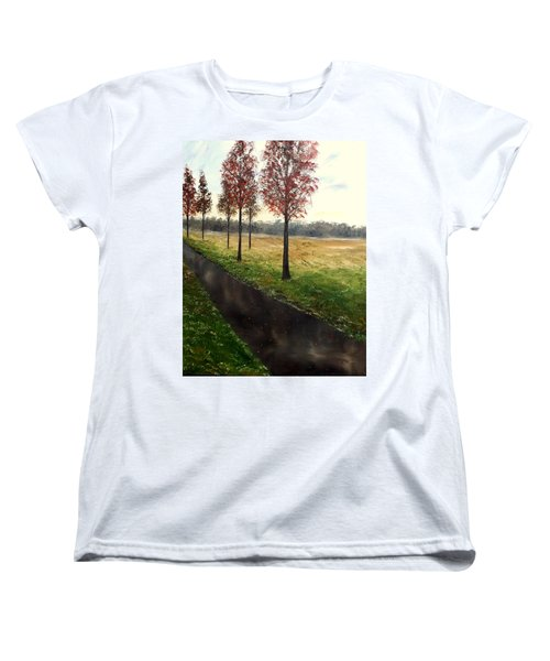 When I Think Of You Women's T-Shirt (Standard Cut) by Lisa Aerts