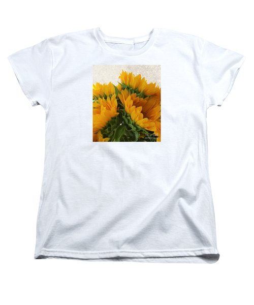 When The Autumn And Winter Meet By Jasna Gopic Women's T-Shirt (Standard Cut) by Jasna Gopic
