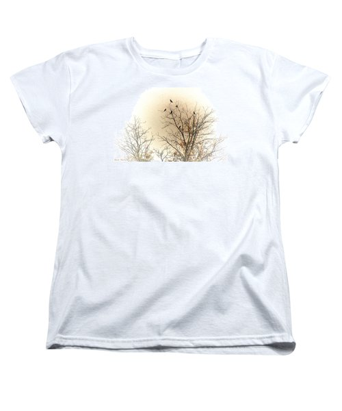 Where To Go From Here... Women's T-Shirt (Standard Cut) by Bonnie Willis