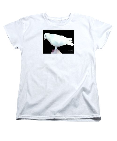 White Dove Women's T-Shirt (Standard Cut) by Merton Allen