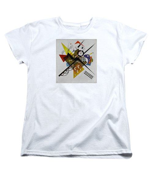 White Women's T-Shirt (Standard Cut) by Kandinsky