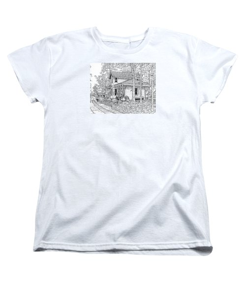 Whitehall Station Bryn Mawr Pennsylvania Women's T-Shirt (Standard Cut) by Ira Shander