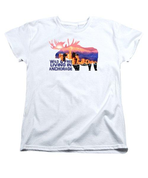 Wild And Free Women's T-Shirt (Standard Cut)