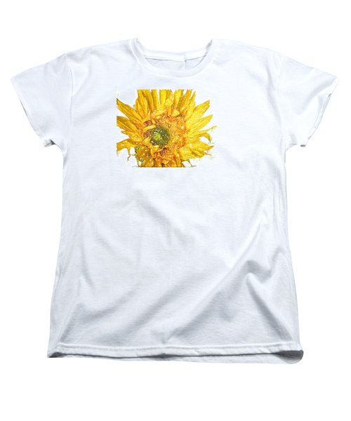 Women's T-Shirt (Standard Cut) featuring the photograph  Wild Flower Two  by Heidi Smith