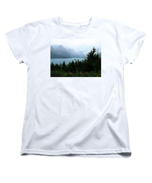 Wild Goose Island In The Rain Women's T-Shirt (Standard Cut)