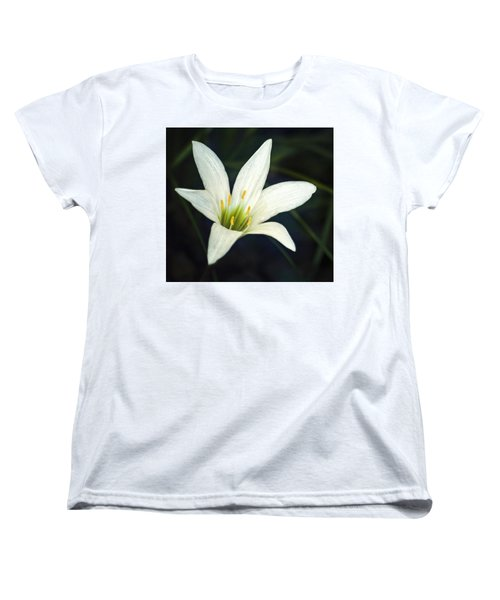 Women's T-Shirt (Standard Cut) featuring the photograph Wild Lily by Carolyn Marshall