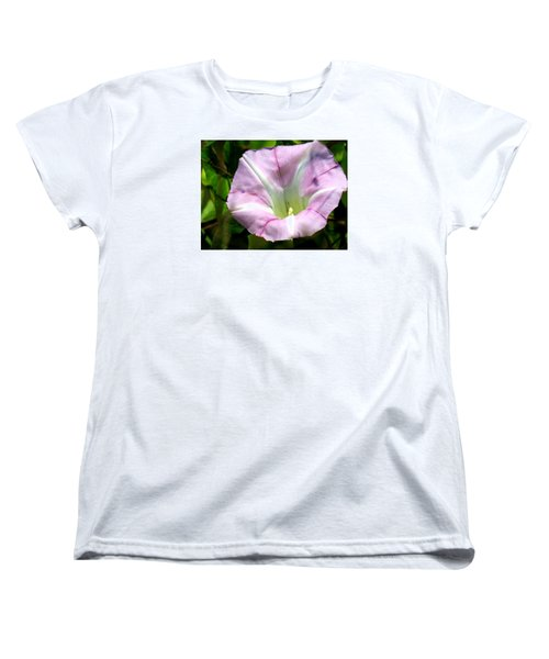 Wild Morning Glory Women's T-Shirt (Standard Cut) by Eric Switzer