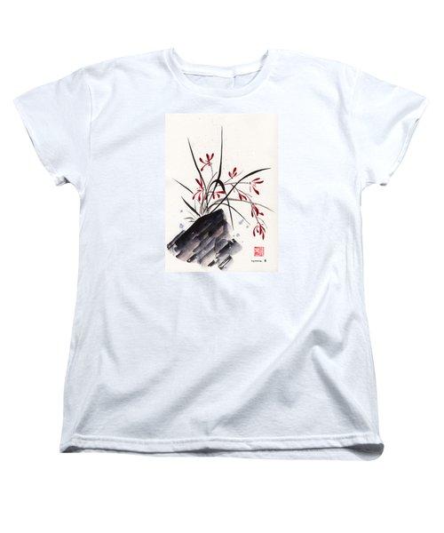 Open Hearts Women's T-Shirt (Standard Cut) by Bill Searle