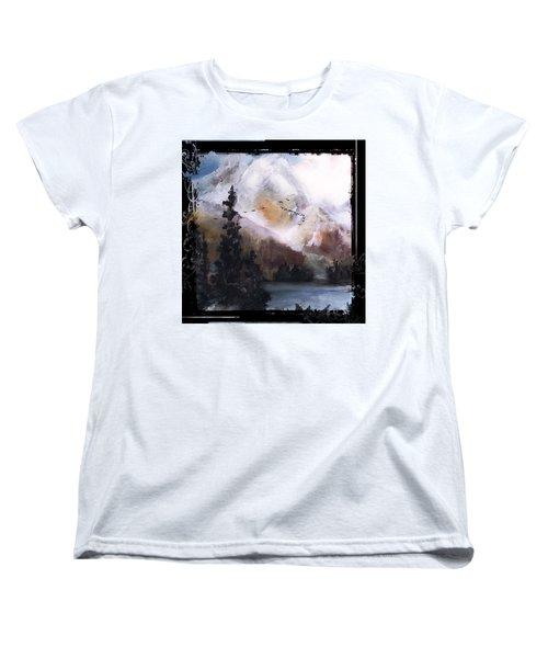 Wilderness Mountain Landscape Women's T-Shirt (Standard Cut)