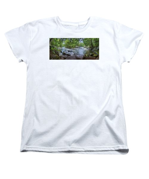 Women's T-Shirt (Standard Cut) featuring the photograph Wilderness Waterway by Bill Pevlor