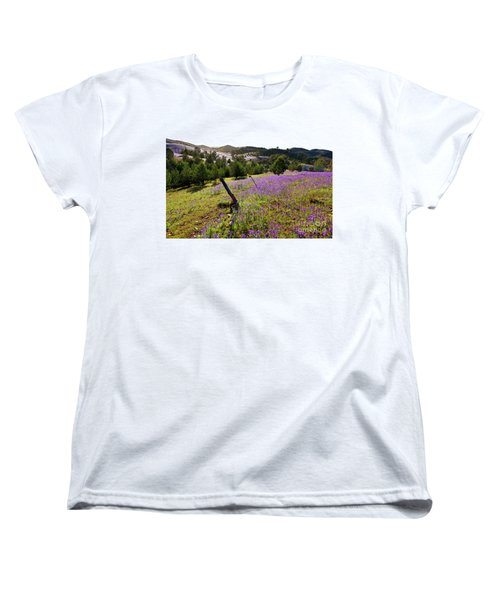 Willow Springs Station Women's T-Shirt (Standard Cut) by Bill Robinson