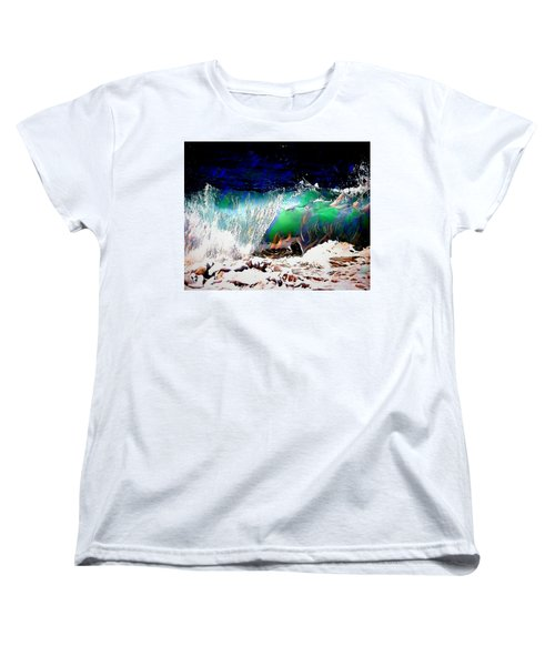 Wind And Waves Women's T-Shirt (Standard Cut)