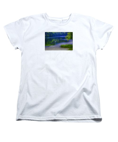 Women's T-Shirt (Standard Cut) featuring the photograph Wings by R Thomas Berner