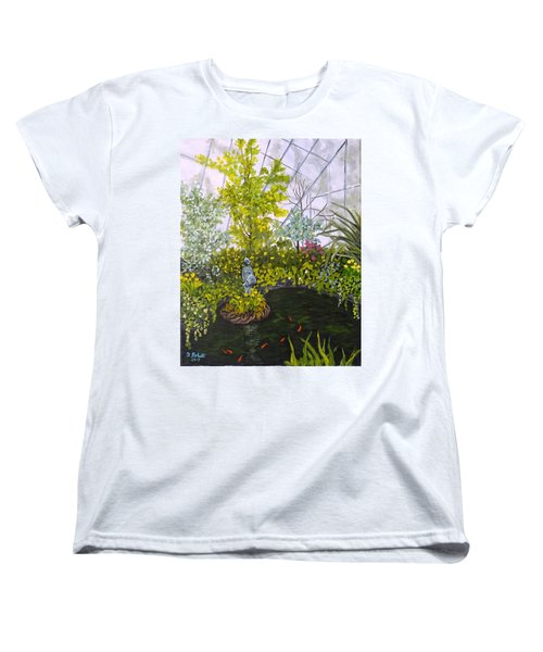 Winter At Allan Gardens Women's T-Shirt (Standard Cut)