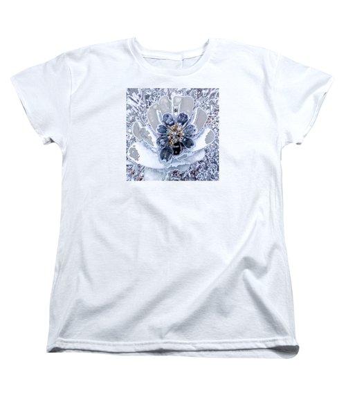 Winter Flower 2 Women's T-Shirt (Standard Cut) by Ron Bissett