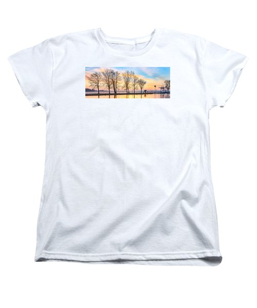 Winter Sunrise  Women's T-Shirt (Standard Cut)
