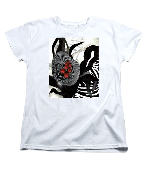 Winterberries Women's T-Shirt (Standard Cut) by Sarah Loft