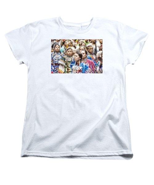 Winyan Strength Women's T-Shirt (Standard Cut) by Clarice Lakota