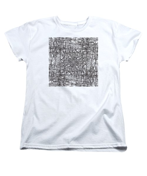 Wired Abstraction Women's T-Shirt (Standard Cut)