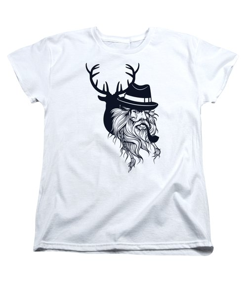 Wise Wild Women's T-Shirt (Standard Cut) by Argd