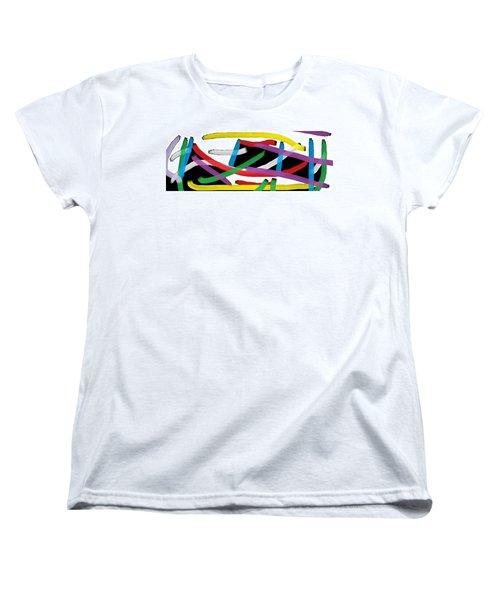 Wish - 38 Women's T-Shirt (Standard Cut) by Mirfarhad Moghimi