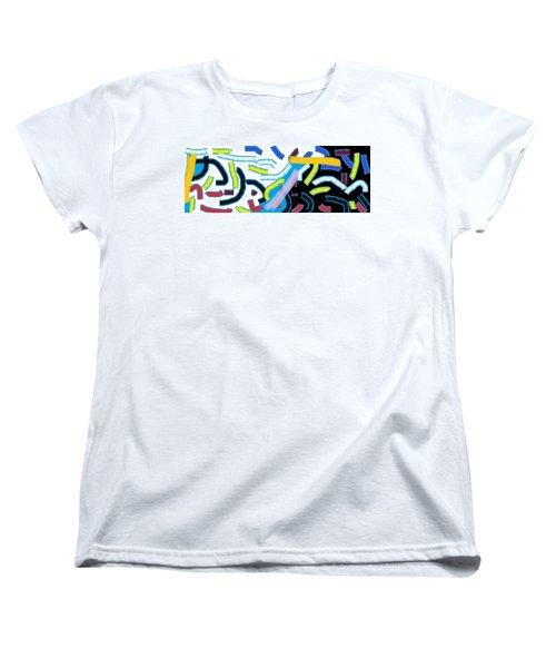Wish - 42 Women's T-Shirt (Standard Cut) by Mirfarhad Moghimi