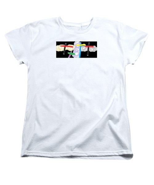 Wish - 55 Women's T-Shirt (Standard Cut) by Mirfarhad Moghimi