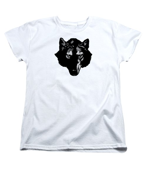 Wolf Tee Women's T-Shirt (Standard Cut) by Edward Fielding