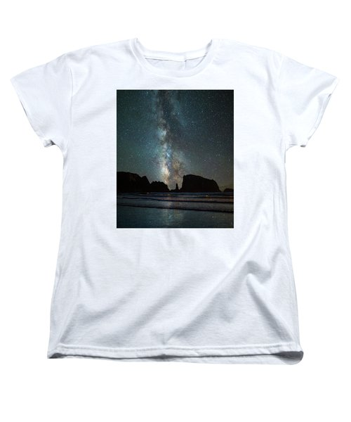 Women's T-Shirt (Standard Cut) featuring the photograph Wonders Of The Night by Darren White