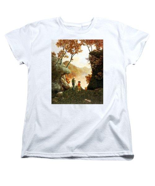 Words Of Wisdom Women's T-Shirt (Standard Cut) by Duane R Probus