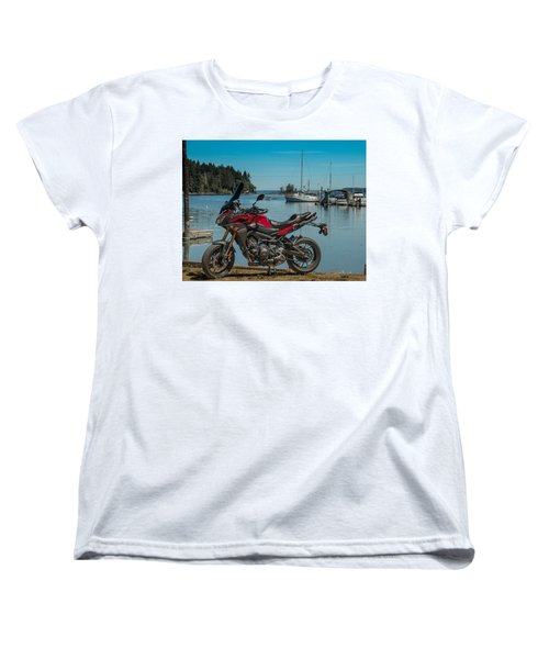 Yamaha Fj-09 .6 Women's T-Shirt (Standard Cut) by E Faithe Lester