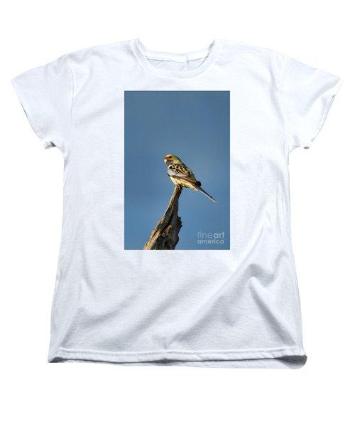 Women's T-Shirt (Standard Cut) featuring the photograph Yellow Crimson Rosella by Douglas Barnard
