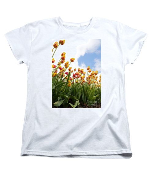 Women's T-Shirt (Standard Cut) featuring the photograph Yellow Fever by Robert Pearson
