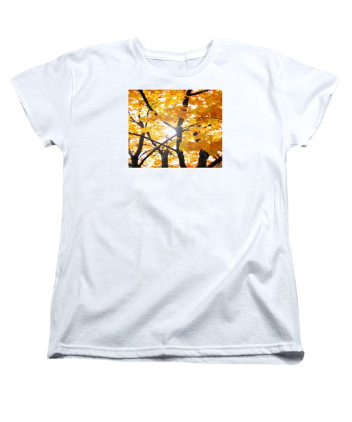 Women's T-Shirt (Standard Cut) featuring the photograph Yellow Light by Patricia Arroyo