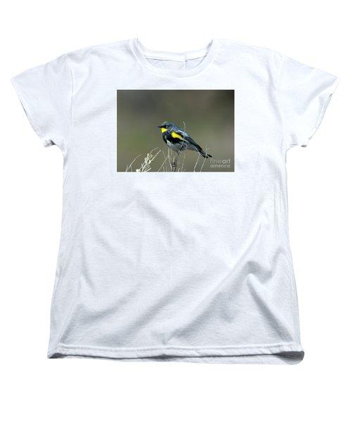 Yellow-rumped Warbler Women's T-Shirt (Standard Cut)