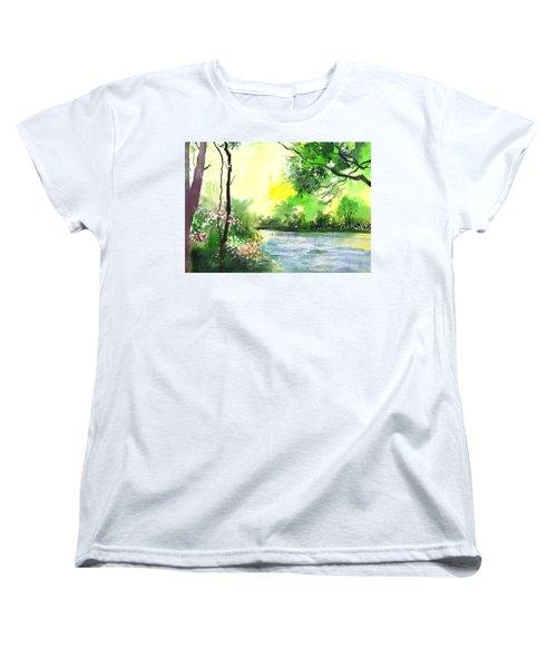 Yellow Sky Women's T-Shirt (Standard Cut)